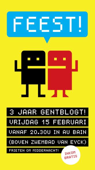Drie jaar Gentblogt!
